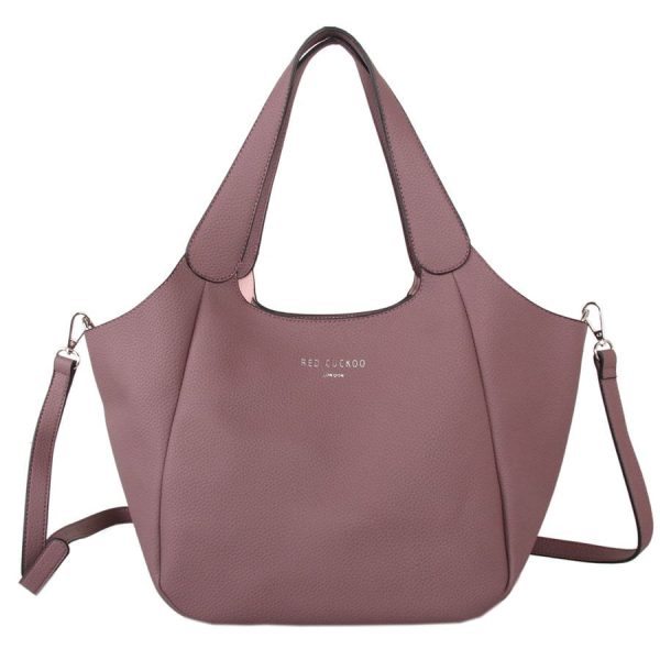 Dusky Mauve Shoulder Bag
