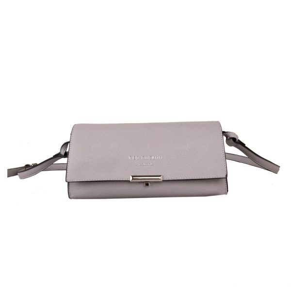 Silver Pastel Cross Body Bag