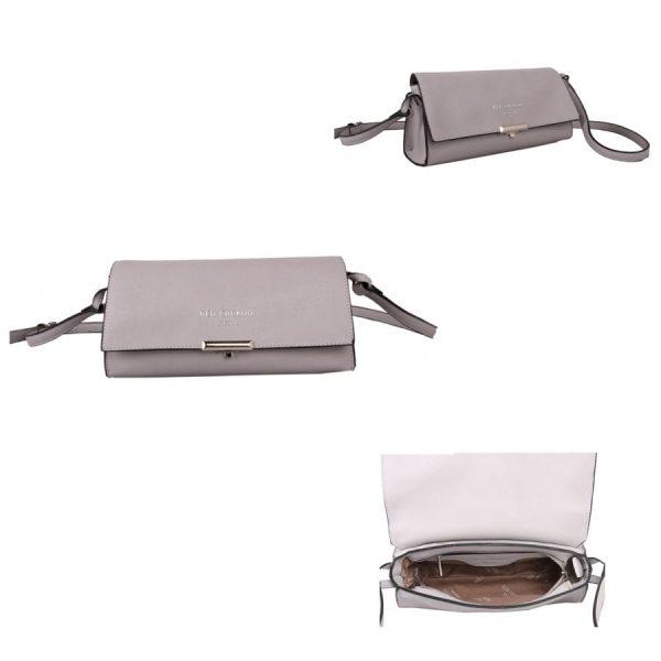 Silver Pastel Cross Body Bag