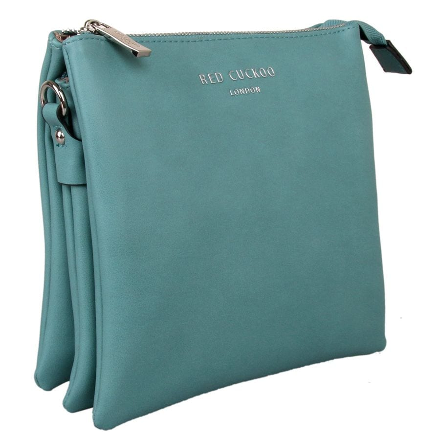 Teal Tall Cross Body Bag