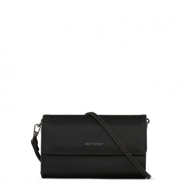Black Drew Crossbody Bag | Vintage | Matt & Nat