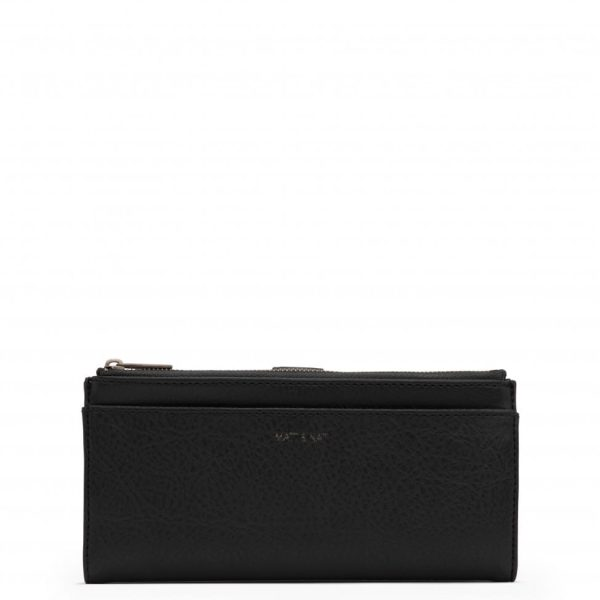 Black Dwell Wallet | Motiv | Matt & Nat