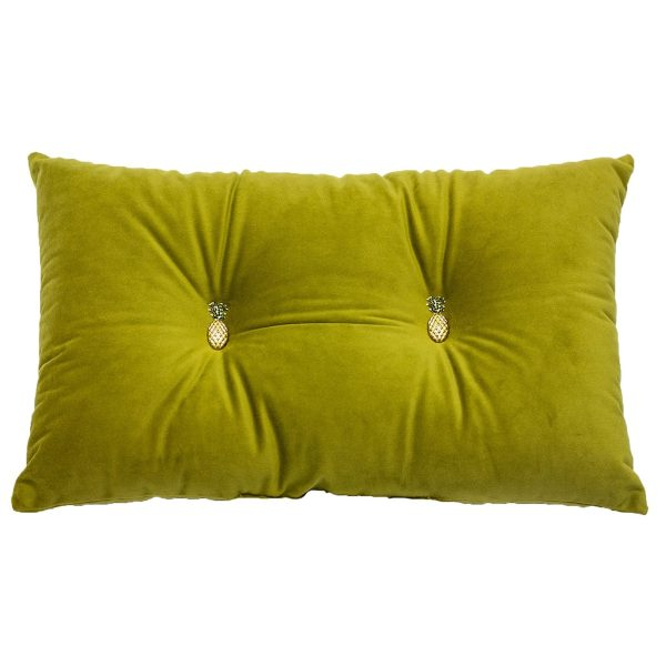 Pineapple Olive Cushion