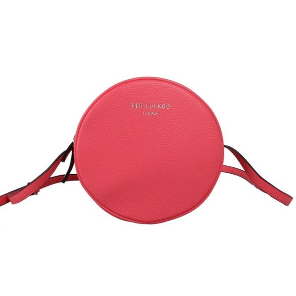 Coral Circular Cross Body Bag