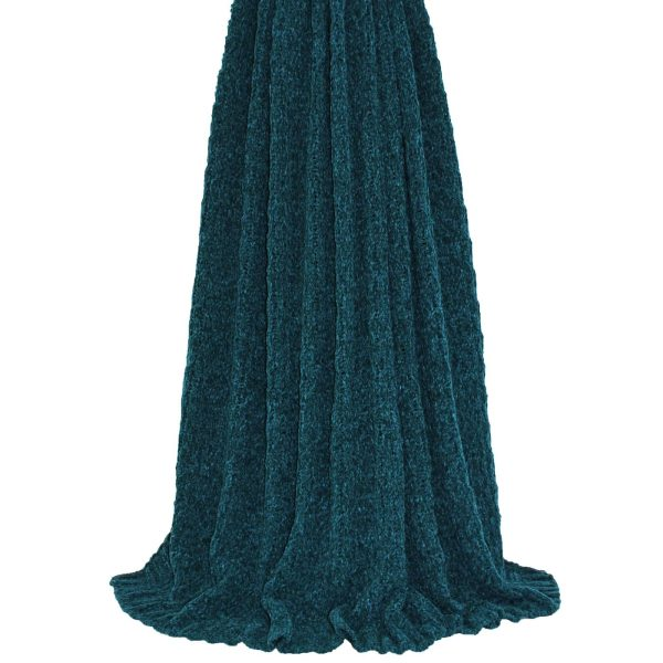 Lilya Teal Throw
