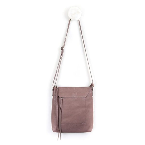 Rose Taupe Cross Body Bag