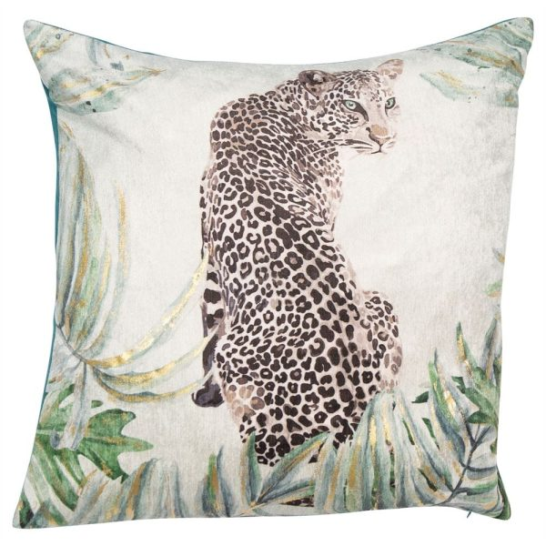 Jaguar Mint Cushion