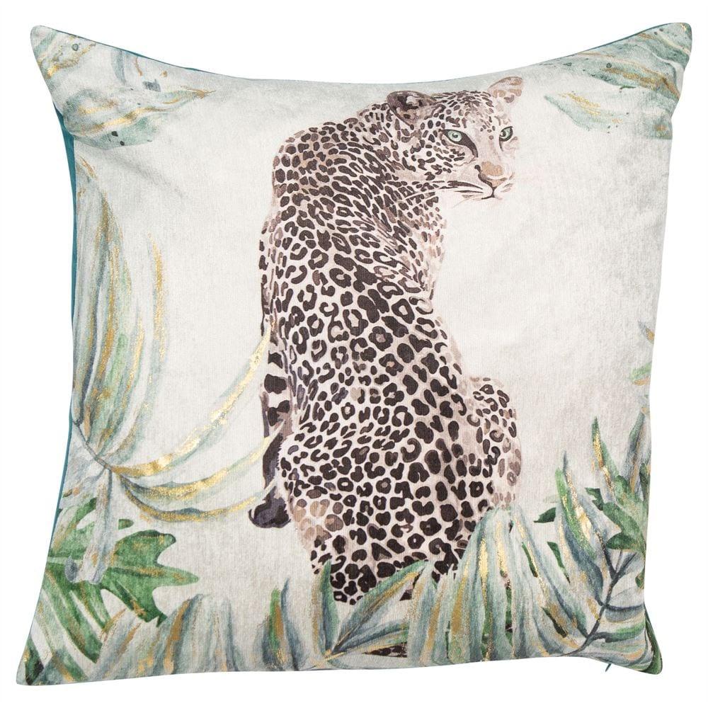 Jaguar Mint Cushion