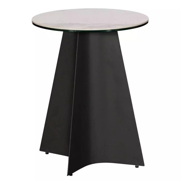 Pierre Round Lamp Table
