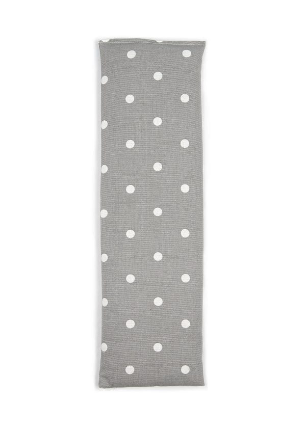 Grey Dotty Unscented Wheat Bag