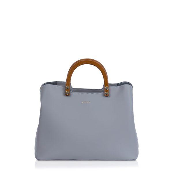 Mid Grey Inite Handle Bag