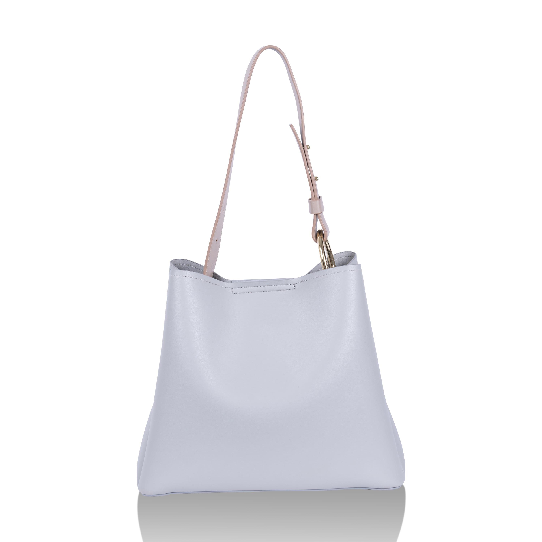Light Grey Jane Tote Bag