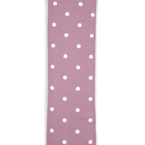 Mauve Dotty Unscented Cotton Wheat Bag