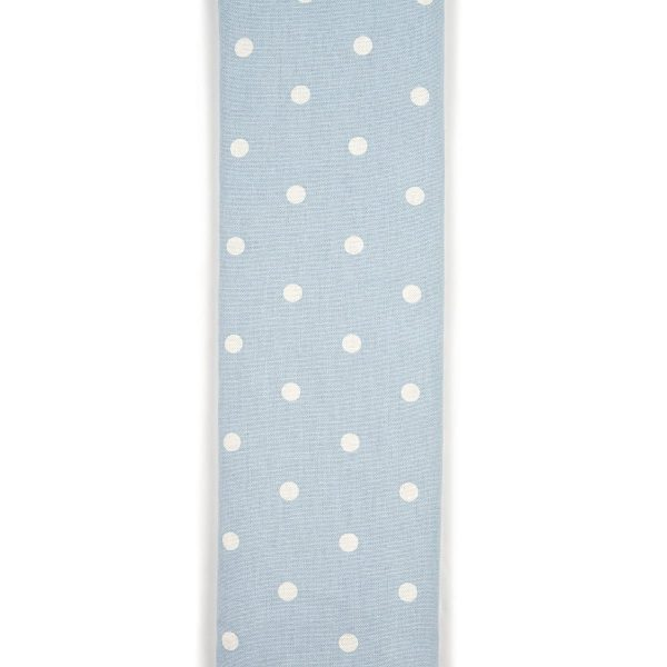 Powder Blue Dotty Unscented Cotton Wheat Bag