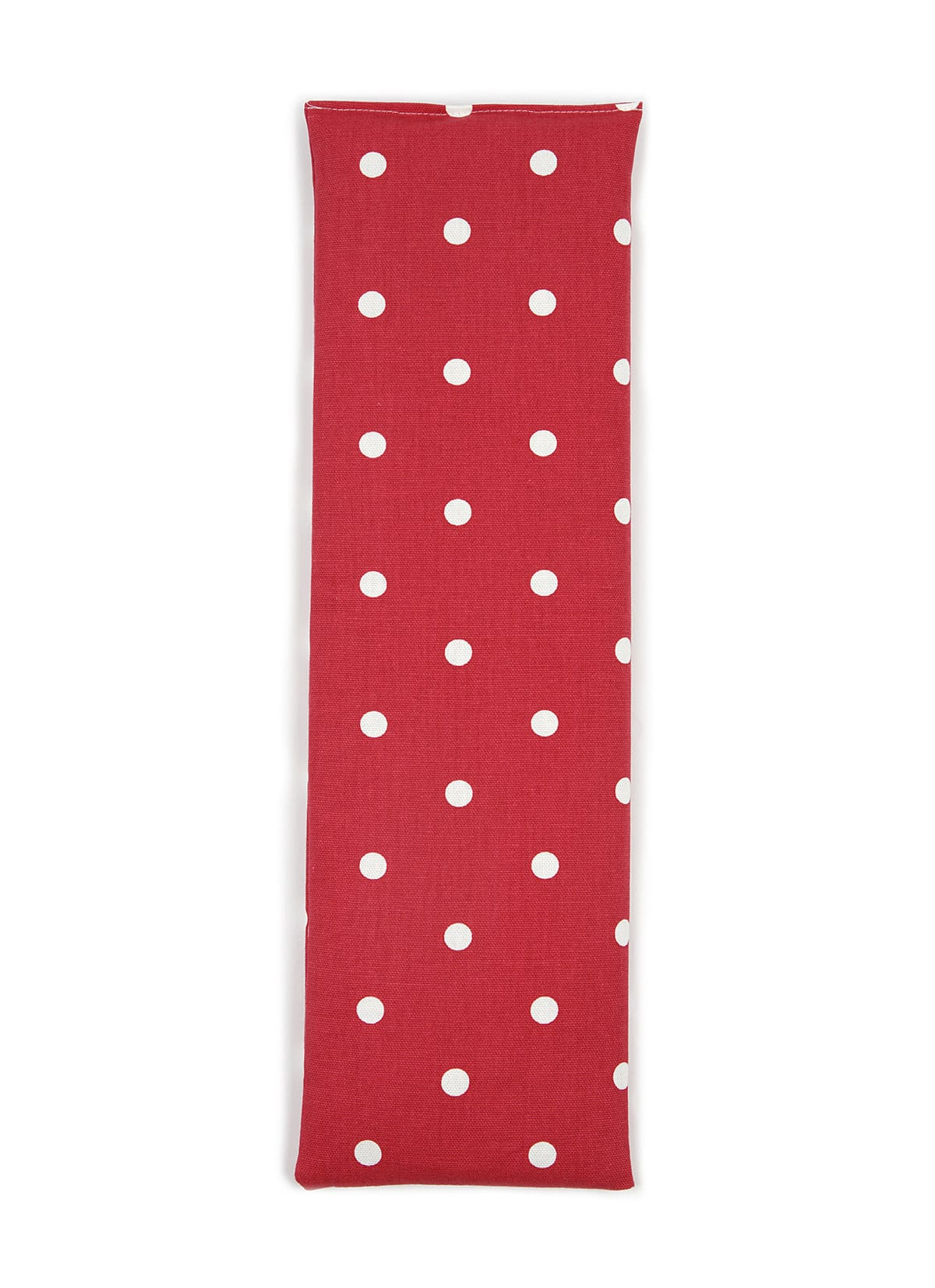 Red Dotty Unscented Cotton Wheat Bag