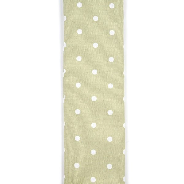 Sage Green Dotty Unscented Cotton Wheat Bag