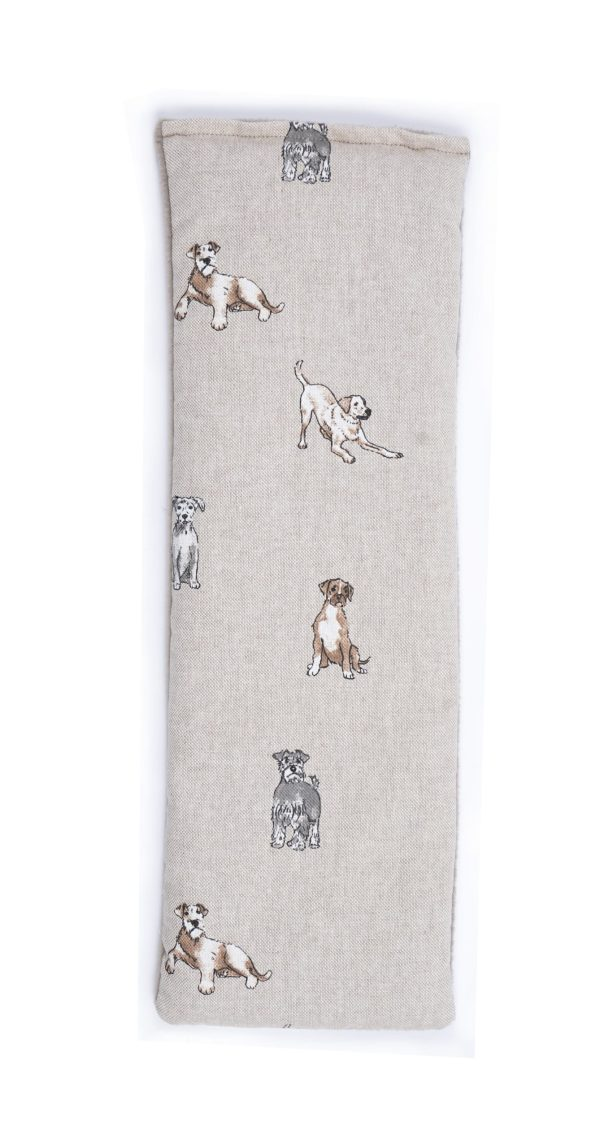 Shabby Dogs Lavender Duo Wheat Bag