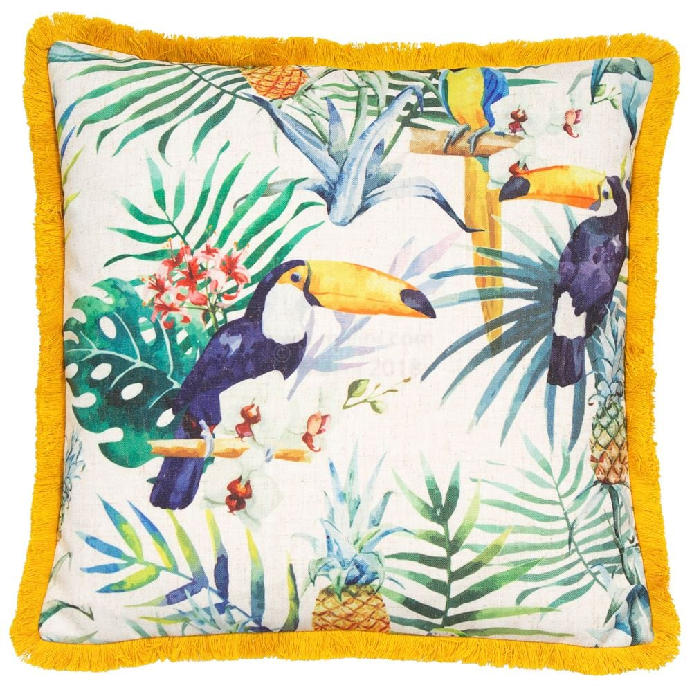 Travis Yellow Cushion