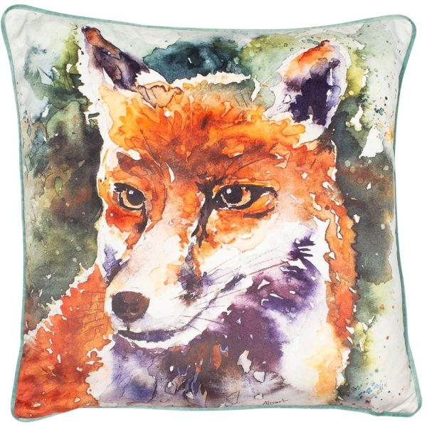 Vix Orange Cushion