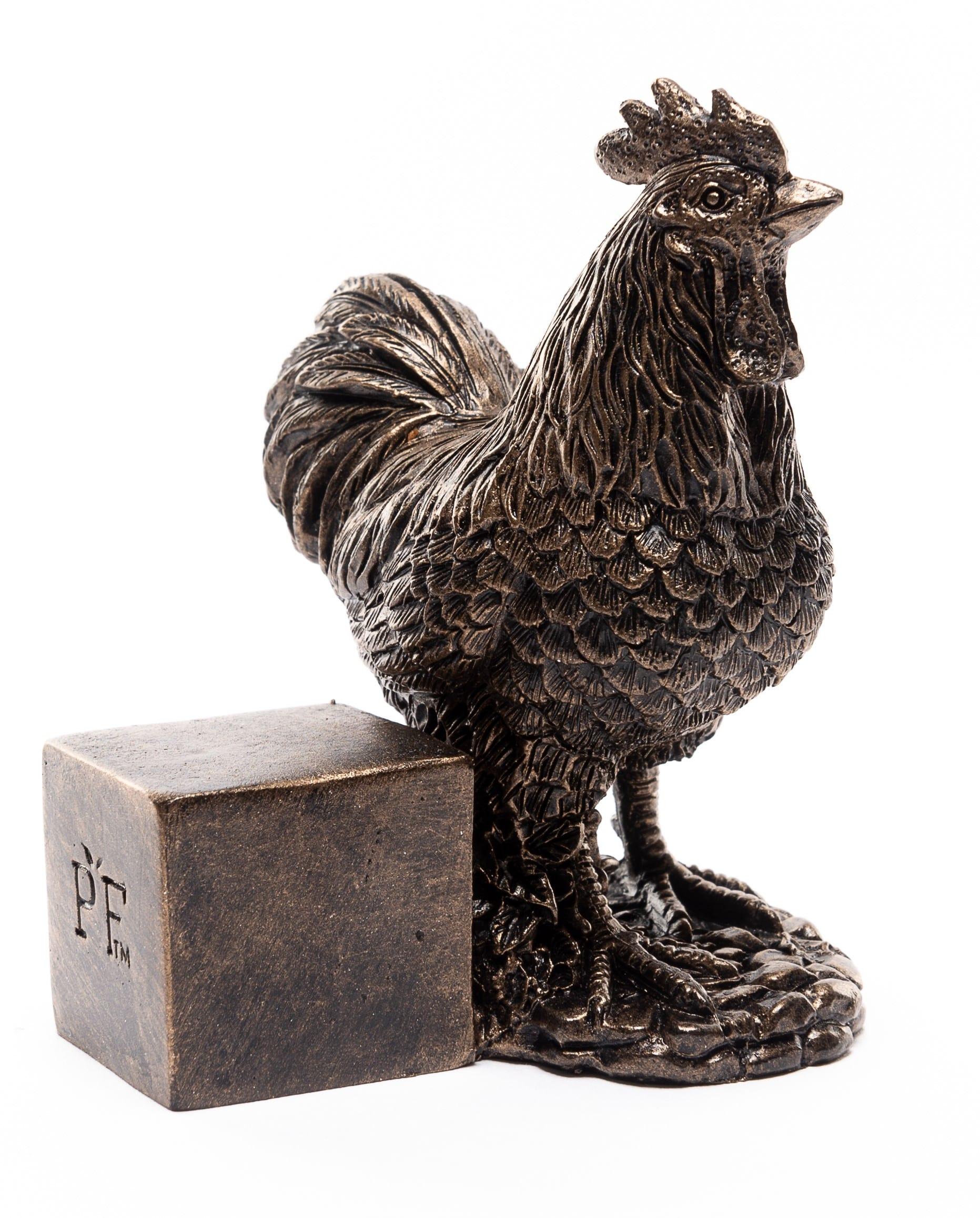 Bronze Chicken Set of 3