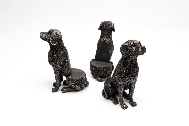 Bronze Labrador Set of 3 2