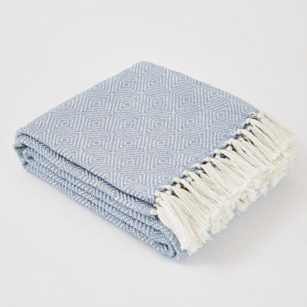 Diamond Lavender Blanket