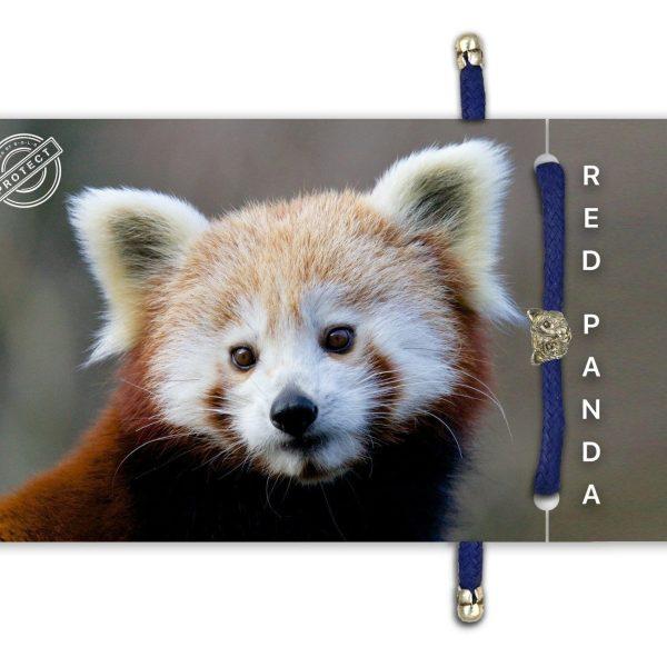 B-O-L-D Red Panda Bracelet