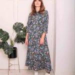 BRIANNA FLORAL SMOCK DRESS