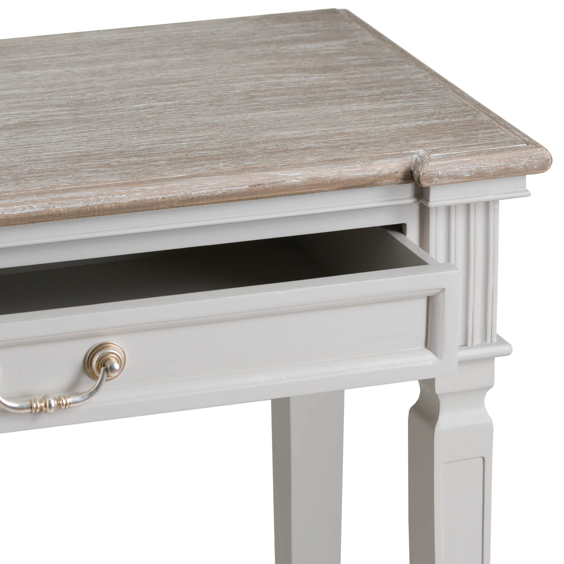 Honfleur 2 Drawer Hall Table With Shelf 2