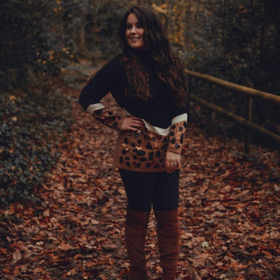 Autumnal Sequin Top 5
