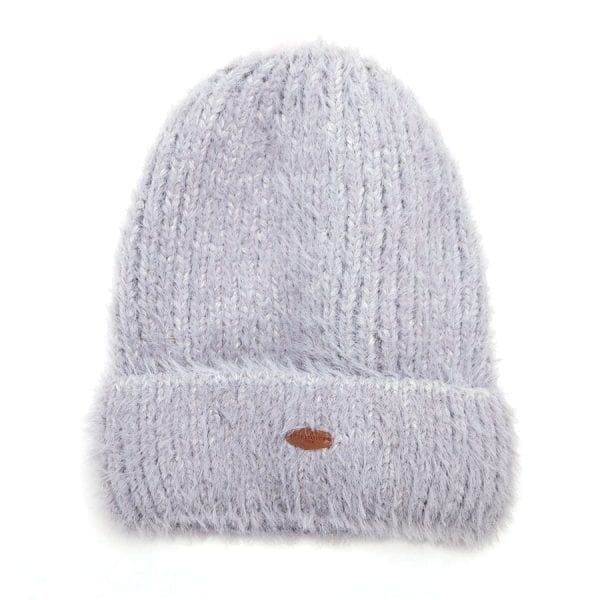 Grey Wooly Hat