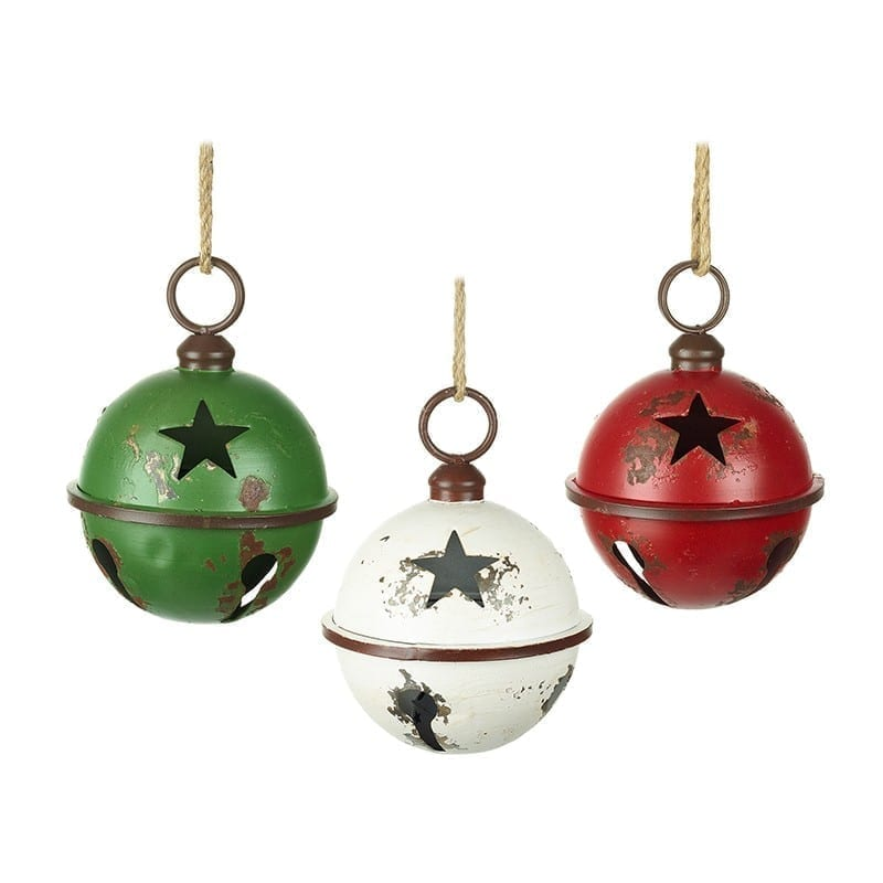 White Star Cut Out Bauble