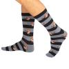 Blue Robins & Stripes Socks