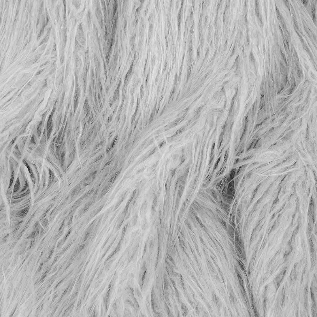 Grey Shearling Swatch