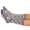 Grey Stars Socks 2