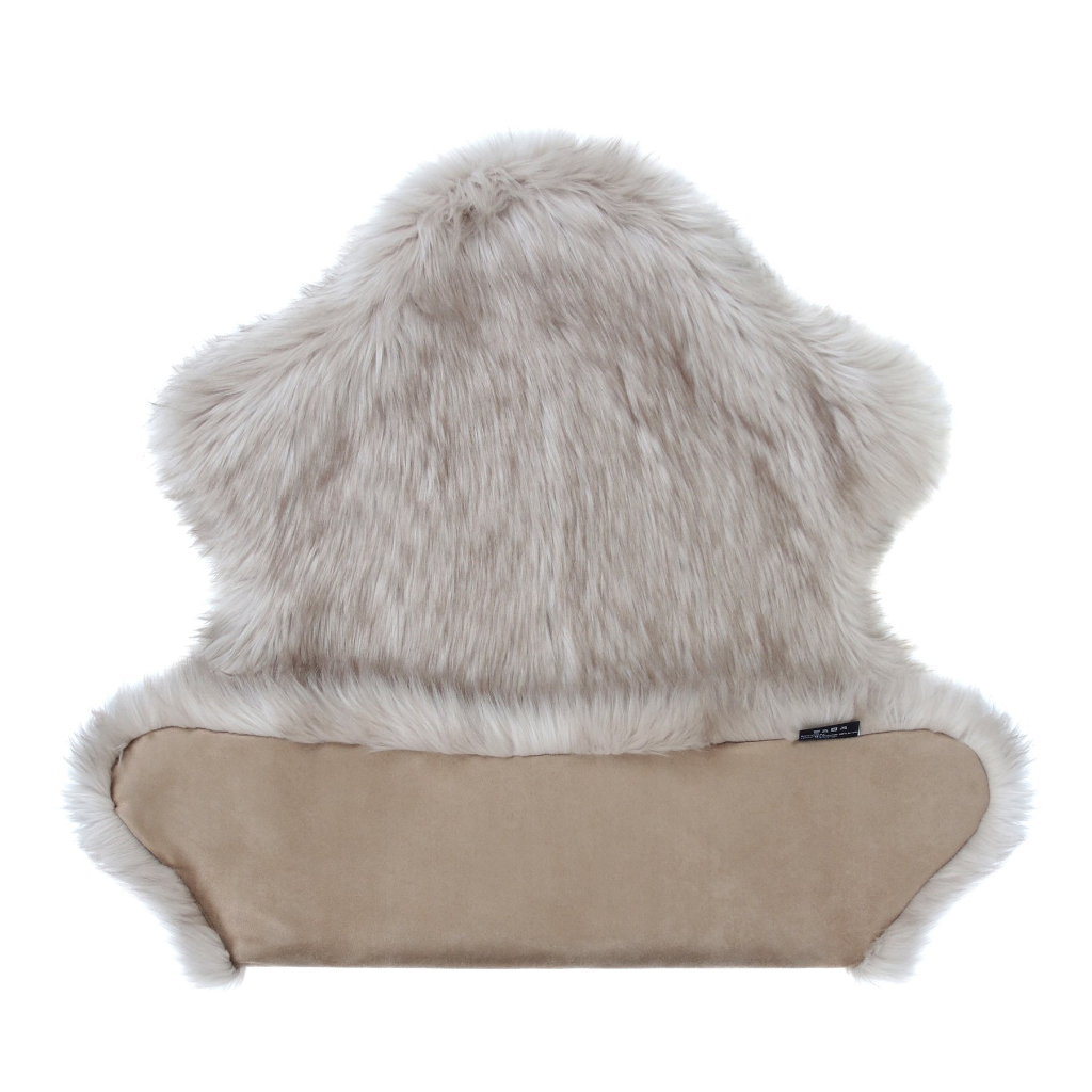 Oyster Faux Fur Rug 2
