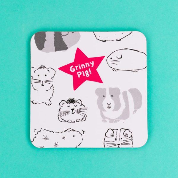 Grinny Pig Coaster