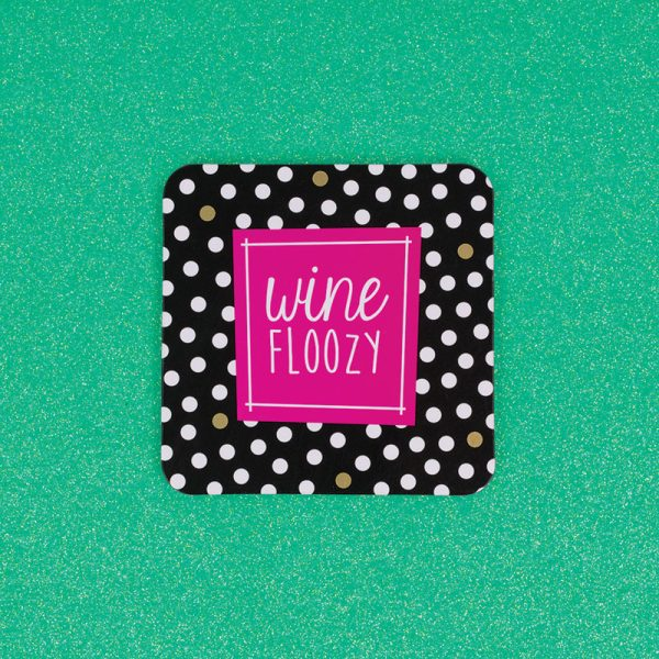 Wine Floozy Coaster