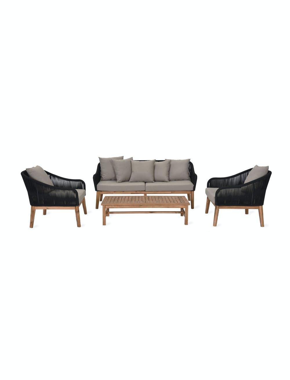 Luccombe Corner Sofa Set