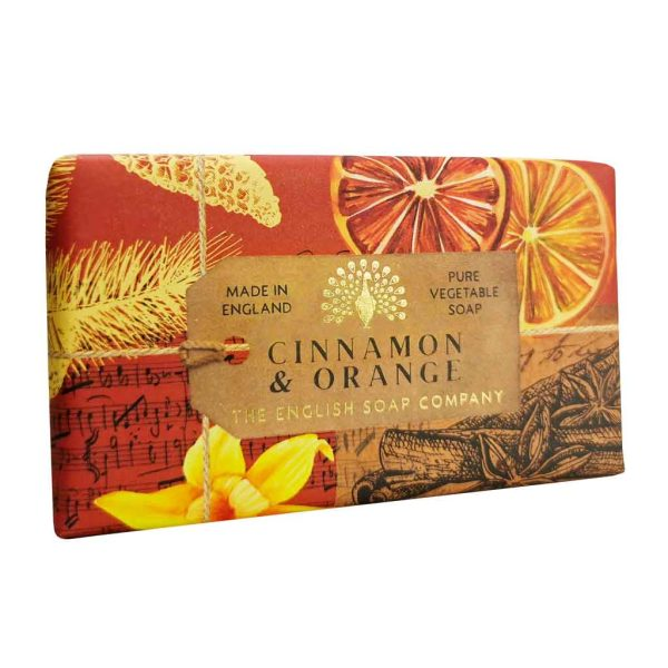Cinnamon & Orange Vintage Wrapped Soap