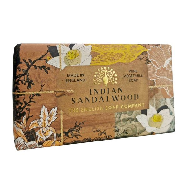 Indian Sandalwood Vintage Wrapped Soap