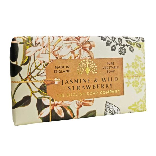 Jasmine & Wild Strawberry Vintage Wrapped Soap