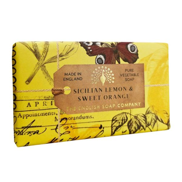 Sicillian Lemon & Sweet Orange Vintage Wrapped Soap