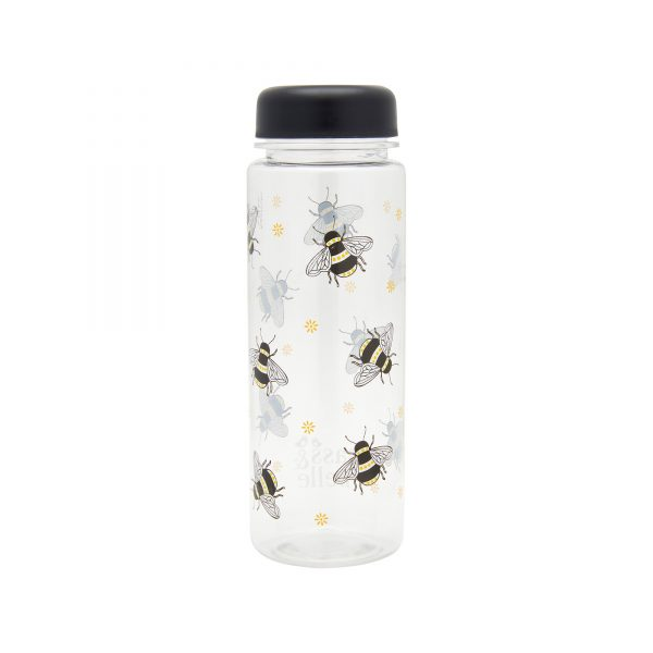 Busy Bees Clear Water Bottle