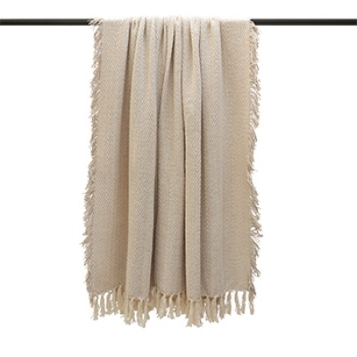 Jasper Feather Throw