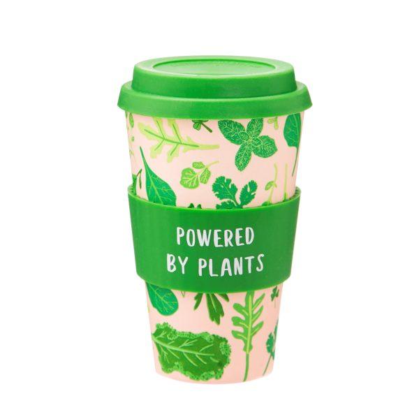 Powered By Plants Bamboo Eco Mug