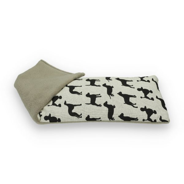 Black Dogs Unscented Wheat Bag