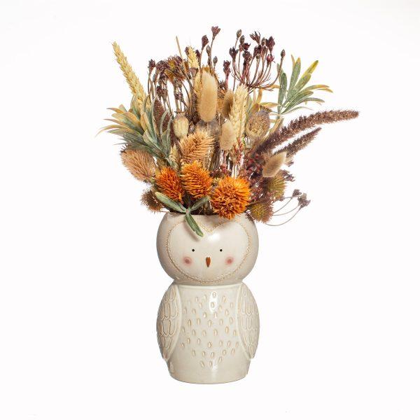 Olivia Owl Vase