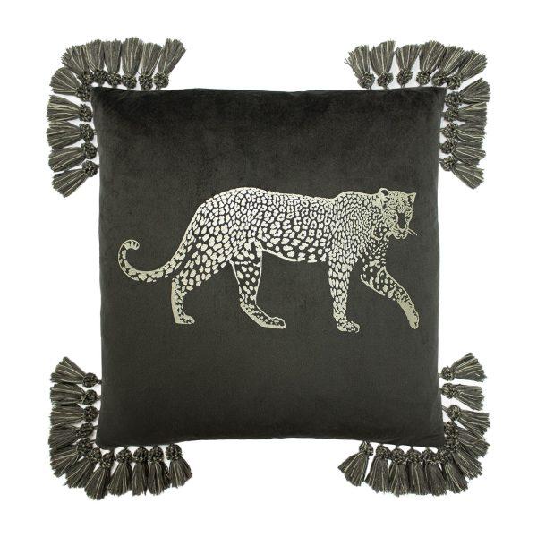 Puma Tassel Cushion