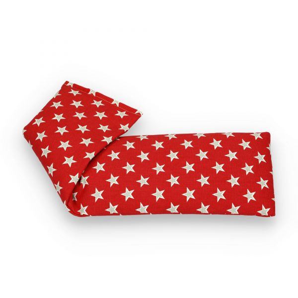 Red Stars Lavender Wheat Bag